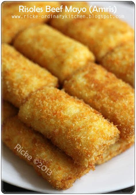 ordinary kitchen tahu isi  risoles beef