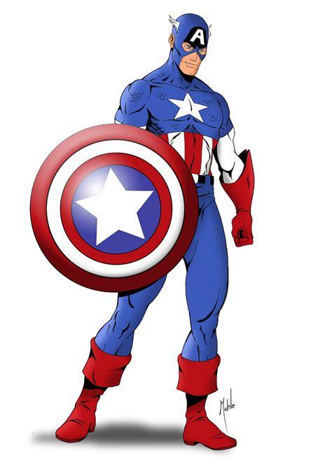 captain america clipart capitan america vector clipart best