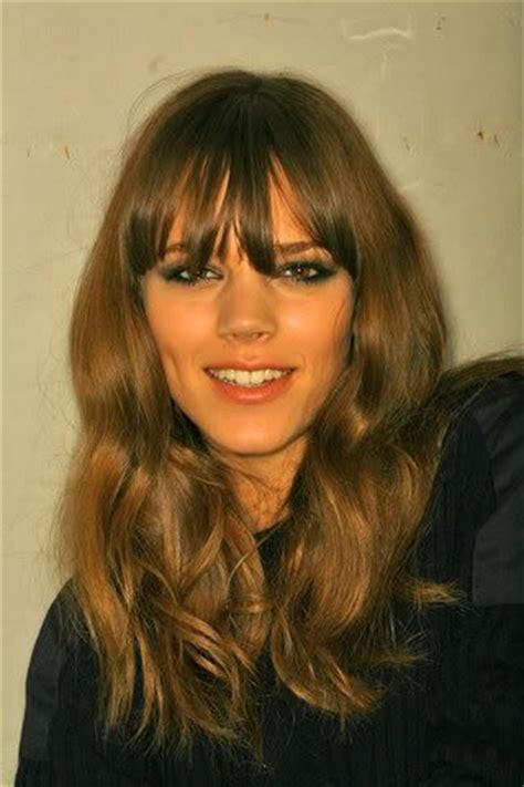 how to wear bangs in your forties 96 best long hair into your 40s images on pinterest hair