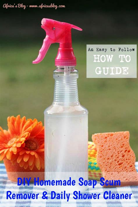 Soap Scum Shower Cleaner by Diy Soap Scum Remover Daily Shower Cleaner
