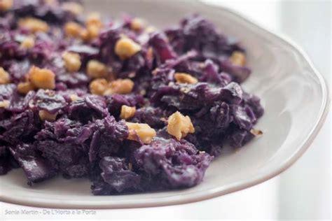 recetas de cocina con col receta col lombarda ecol 243 gica con nueces somnatur