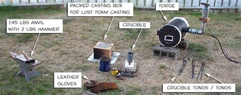 backyard metalcasting 85 backyard metal casting and homemade forges backyard