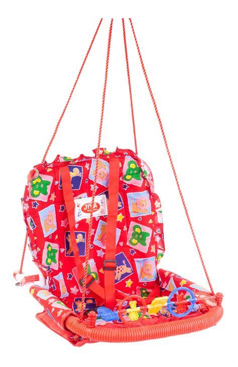 buy baby swing online india buy jiya baby swing cotton red online in india kheliya