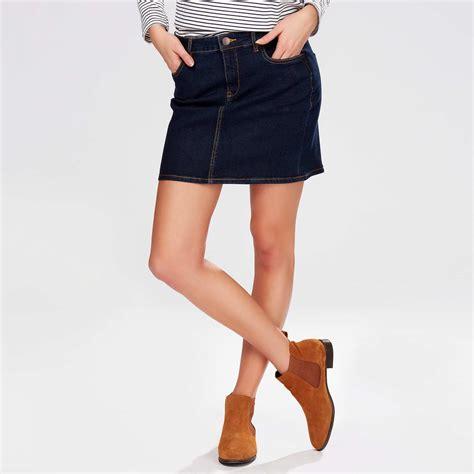 Jupe Jeanz jupe courte en jean femme kiabi 13 00