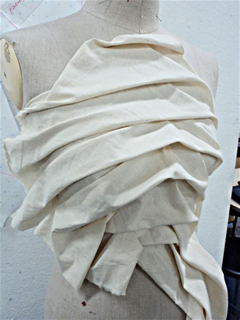 fabric draping techniques draping fabric to create a garment mr march mistler art