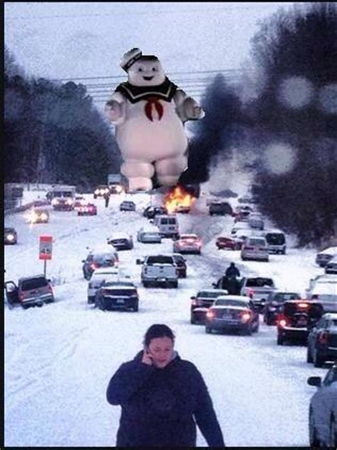 Atlanta Snow Meme - nc snow meme attack on glenwood ave wral com