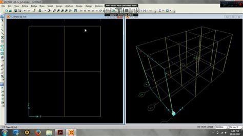 tutorial sap 2000 untuk gedung tutorial perancangan struktur gedung tahan gempa