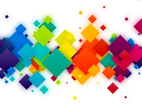 colorful designs colorful squares background psdgraphics
