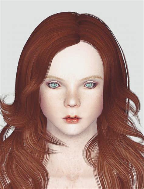 three dimension hair cuts the sims 3 dimensional wavy hairstyle newsea s abbie