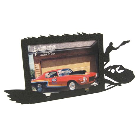 race car 3x5 horizontal picture frame