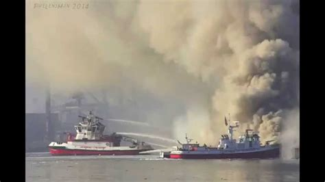 fire boat san pedro fire boats in action time lapse slide show los