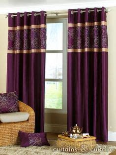 plum and gold curtains interiors purples on pinterest purple velvet purple