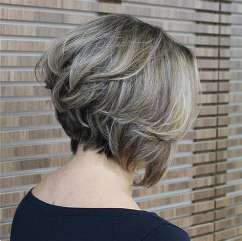 pictures of stacked bob haircut back view 20 popular messy bob haircuts we love popular haircuts