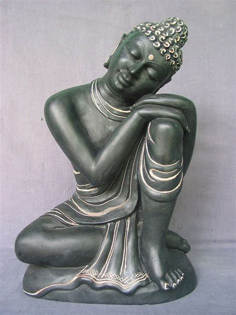 home decor statue 12 quot dharmachakra buddha stone statue alter buddha sculpture home decor ebay