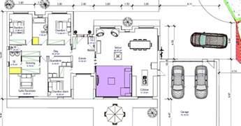 plan plain pied 3 chambres 120m2