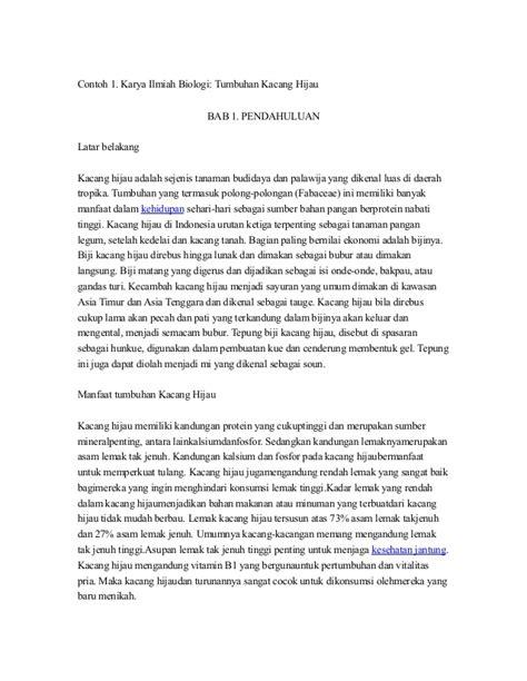 format laporan individu kkn contoh karya ilmiah virus vontoh