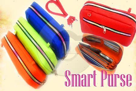 Dompet Koin Colourful dompet multifungsi smart purse organizer nenkjegeg s