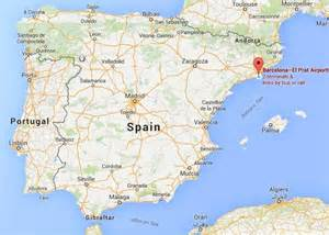 Map Of Barcelona Spain by Map Of Spain In Barcelona Spain Pictures To Pin On