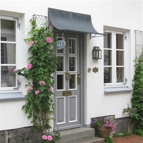 Doorway Awnings Door Canopy Season Garden Requisites