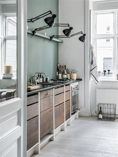 industrial style kitchen una casa dal mood industriale in the mood for design