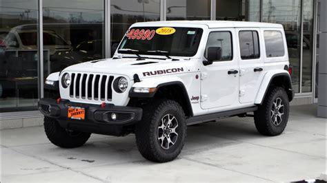 rubicon jeep 2018 2018 jeep wrangler unlimited rubicon walkthrough