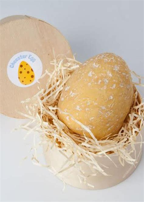 easter egg made of cheese could you handle an easter egg made entirely out of cheese