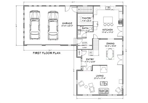 Floor Plan 3000 Sq Ft House by Floor Plans 3000 Square Foot 3000 Square Feet House Plans