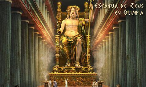 Imagenes De La Estatua Del Dios Zeus | estatua de zeus en olimpia la factoria historica