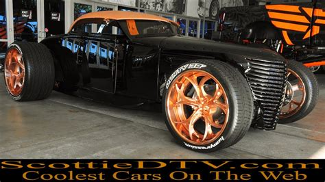 ford custom street rod durty   sema show