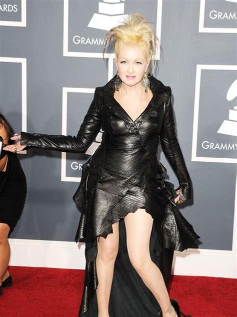 Grammy Awards Cyndi Lauper by Cyndi Lauper At The Grammy Awards Grammys 2011