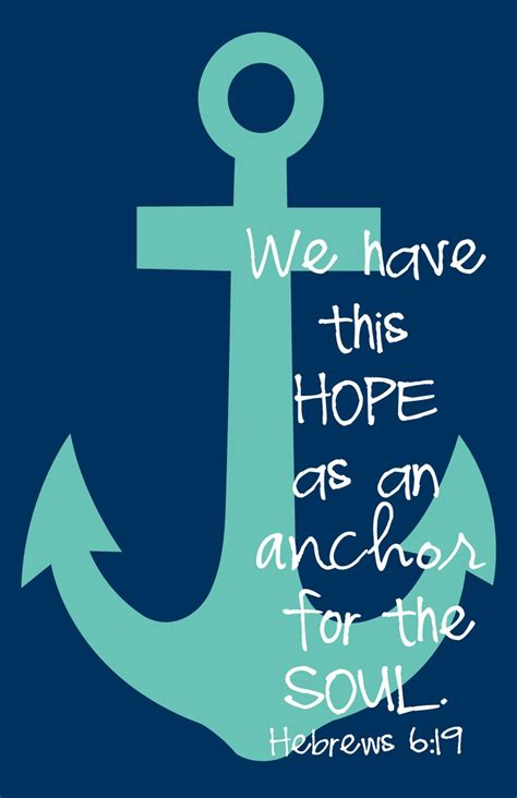 Love Anchors The Soul Hebrews - anchor hebrews 6 19 available as prints on apparel