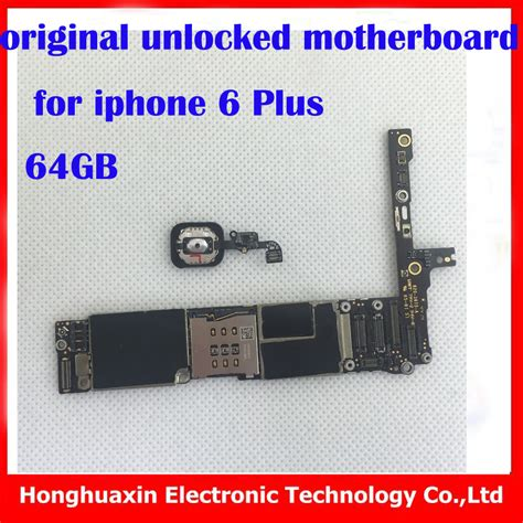 Iphone 6 Pplus 64gb Second Original 100 factory unlock motherboard with touch id for iphone 6 plus 64gb 100 original mainboard with