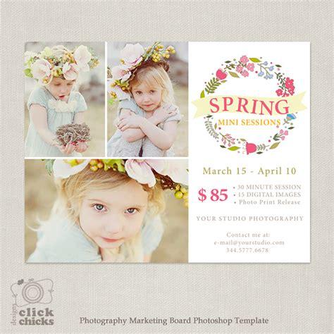 Spring Mini Session Marketing Template For Photographers 076 Mini Session Template