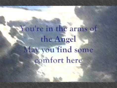 Angel By Sarah Mclachlan With Lyrics Youtube