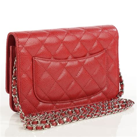 Chanel Caviar Chain chanel caviar quilted wallet on chain woc