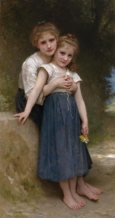 by william bouguereau two sisters william adolph bouguereau 1825 1905 two sisters golden