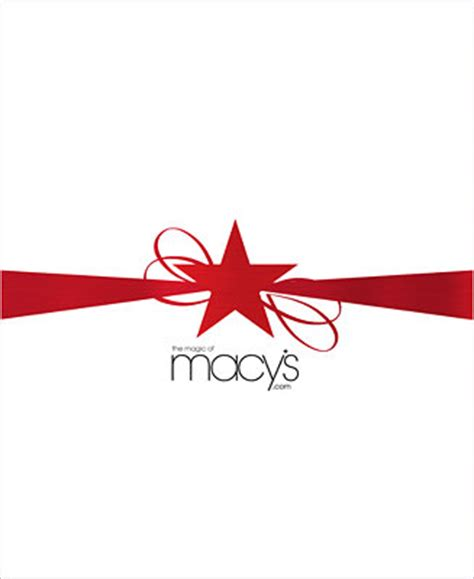 G Star Gift Card - macy s star ribbons e gift card gift cards macy s