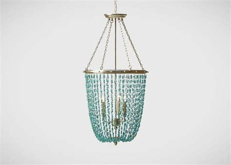 Blue Beaded Chandelier Blue Beaded Chandelier Blue Lapis Turquoise Chandeliers