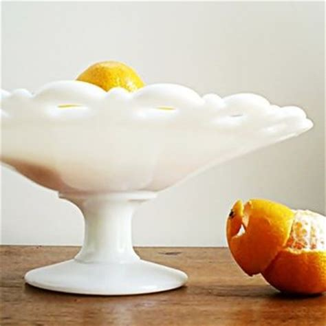 b q fruit bowl best glass pedestal compote products on wanelo