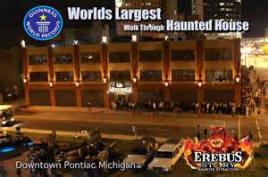Erebus Pontiac 4thebest Clickondetroit Erebus Haunted Attraction Pontiac