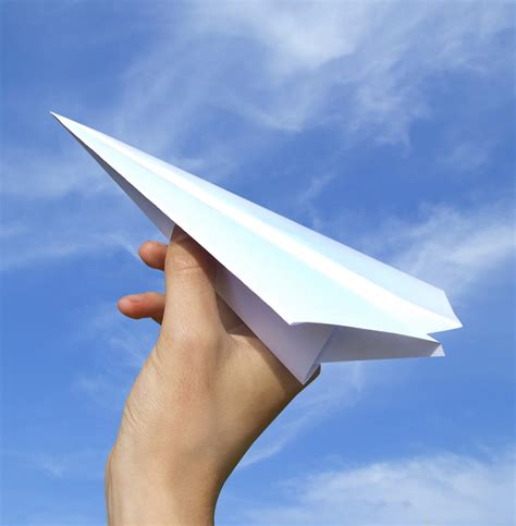 A Paper Airplane - an elephant a day elephant no 274 paper airplanes