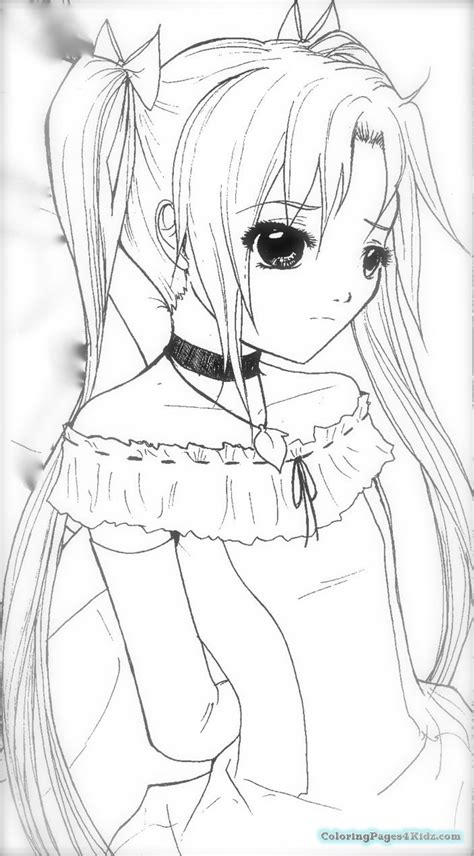 anime angel girl coloring pages angel anime girl coloring pages coloring pages for kids