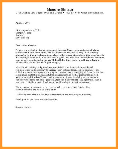 estate manager cover letter sample livecareer