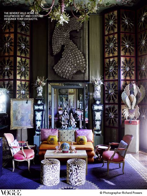 Tony Duquette Interiors by Tony Duquette Interior Design For The Stylistically