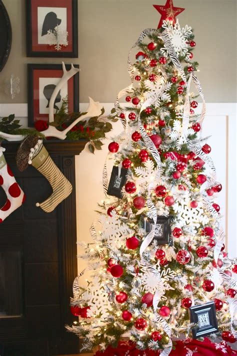 red and white christmas decorations www pixshark com