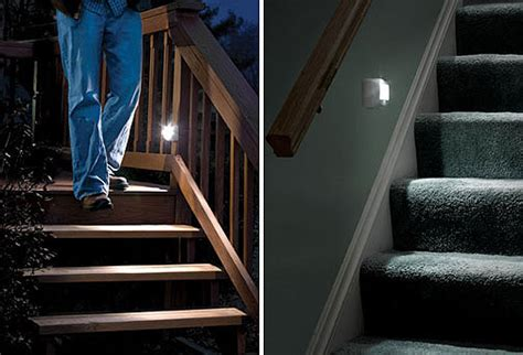 motion activated stair lights mr beams mb 530 battery operated indoor outdoor motion