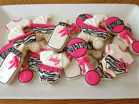 Pink Leopard Baby Shower Theme by Colorful Zebra Stripes And Pink Baby Shower Decorations
