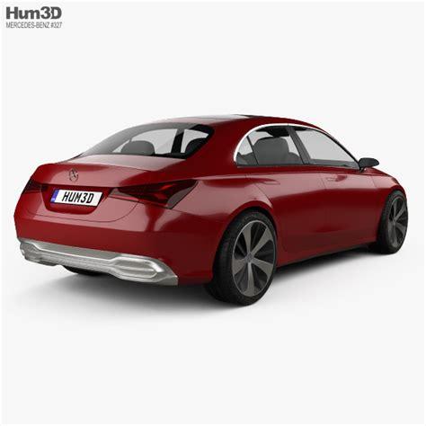 Mercedes Sedan Models by Mercedes A Sedan 2017 3d Model Hum3d