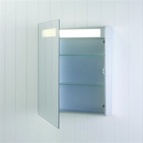 mirrored bathroom cabinet with light astro lighting modena 0349 illuminated mirror cabinet
