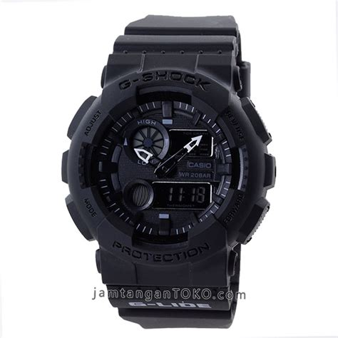 Jam Tangam G Shock Lide harga sarap jam tangan g shock gax 100bb 1 all black g lide tactical series